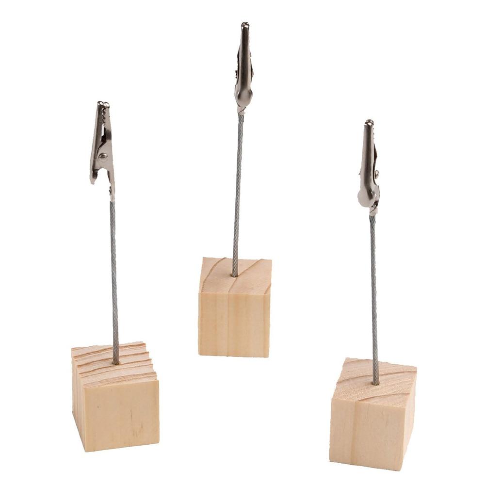 20pcs Cube Stand Wire Desk Card Note Picture Memo Photo ...