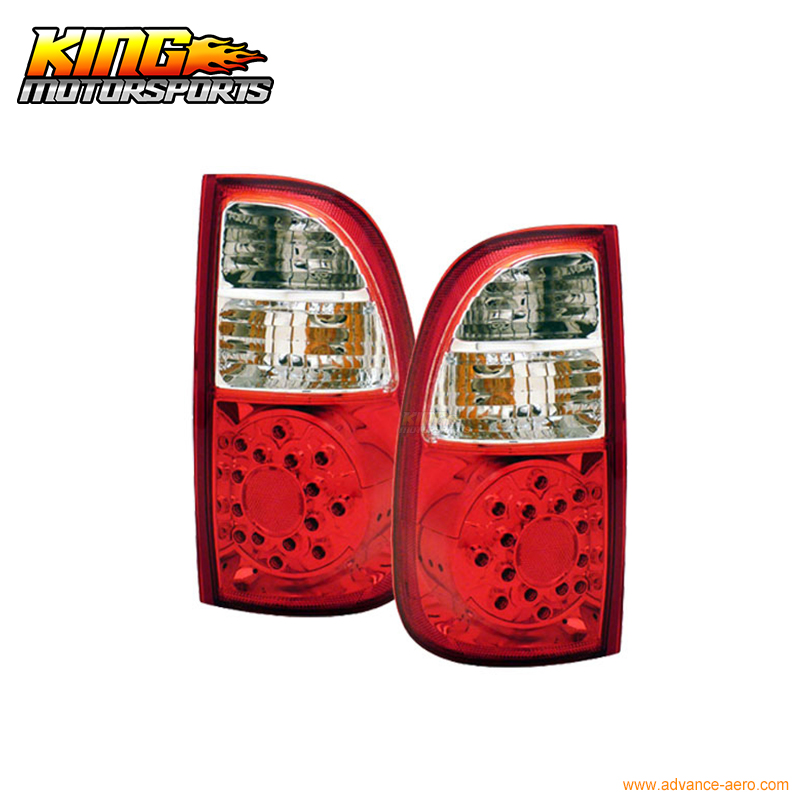 For 00-06 <font><b>Toyota</b></font> <font><b>Tundra</b></font> LED Tail Lights R CL (STD Cab ACC) USA Domestic Free Shipping