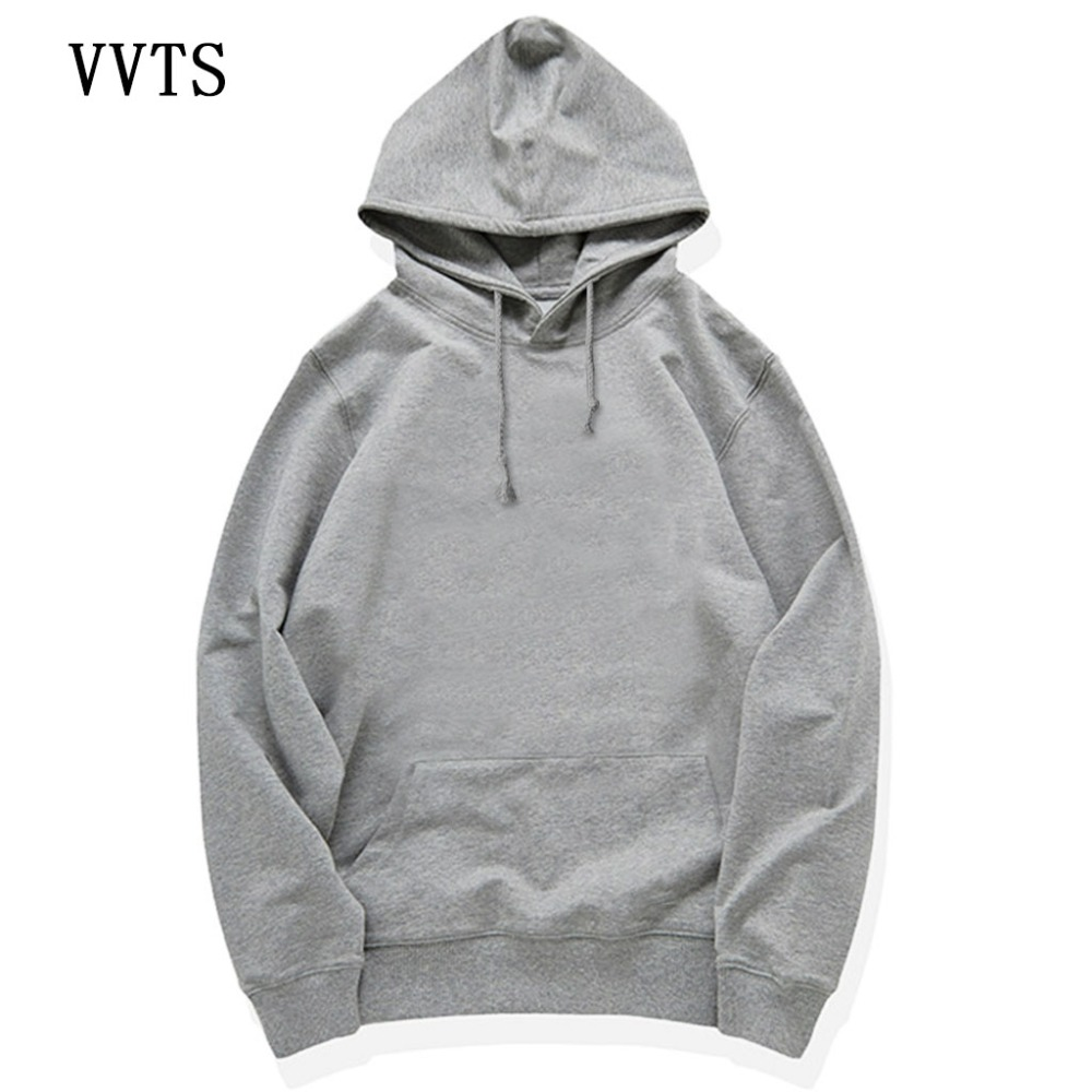 VVTS New Fashion Brand Hoodies Men/Women Hip Hop Hooded Hoody Cotton Warm Coat Hoodies Sweatshirts Large Size Pullovers S-4XL