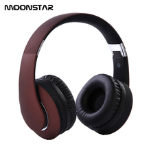 Free Delivery Portable Hifi Wireless Bluetooth 4.0 Headphone Super Bass Support TF Card Earphones For IPone Android Mobile Phone