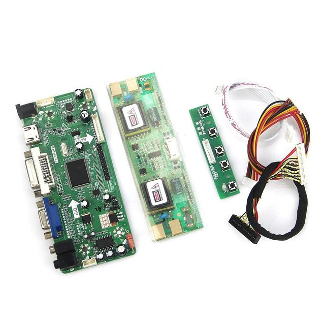 М. NT68676 ЖК/LED Драйвер Контроллера Совета (HDMI + VGA + DVI + Аудио) Для M190EG02 V.4 LTM190E4-L02 LVDS Монитор Повторное Ноутбук 1280*1024