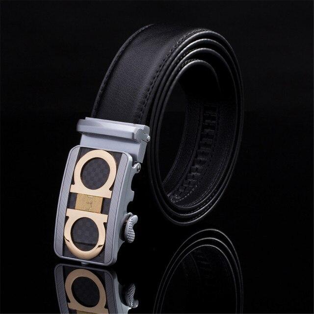 100% cowhide genuine leather belts for men Strap male pin buckle fancy vintage  jeans cowboy b49c2074ab