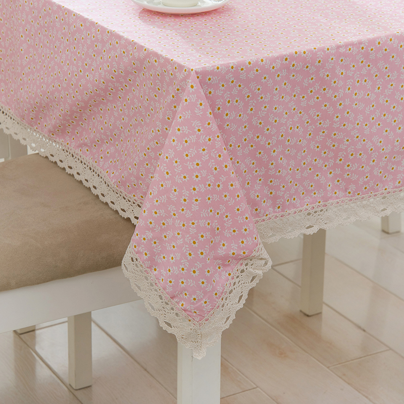 Good Free Shipping Fresh And Rural Wind Small Camellia Lace Tablecloths Table  Runners Coffee Table Covered Cloth
