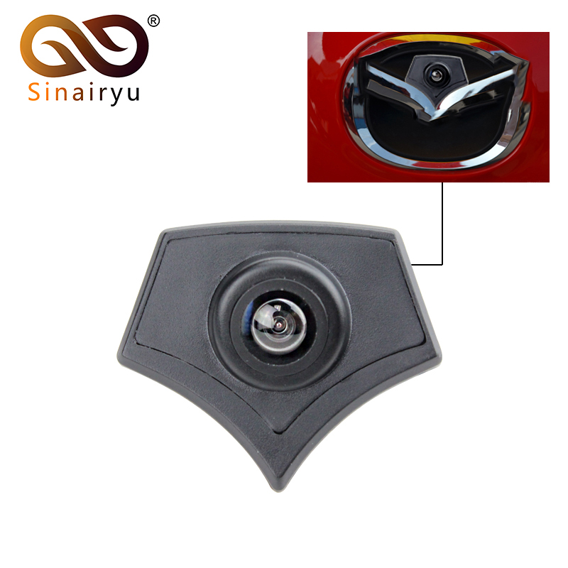 CCD Car Front Logo Camera For Mazda 2 3 5 6 CX 7 CX 9 CX 5 Mazda 8 Front View Reversing Backup Camera Parking Assistance