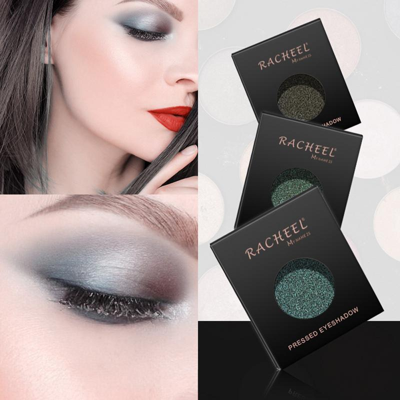 RACHEL Polarized Eyeshadow Gradient Starry Green Series Eye Shadow Makeup Eye Cosmetic