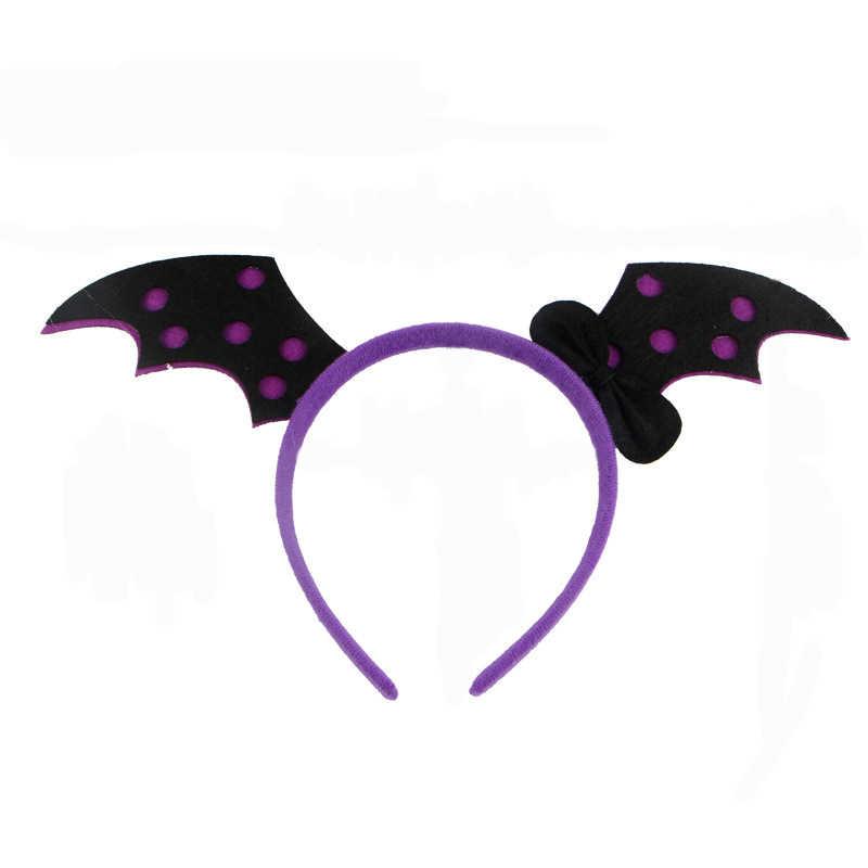 1PC Cartoon Vampire Bat Headband Halloween Child Cute Dress Up Party Decoration