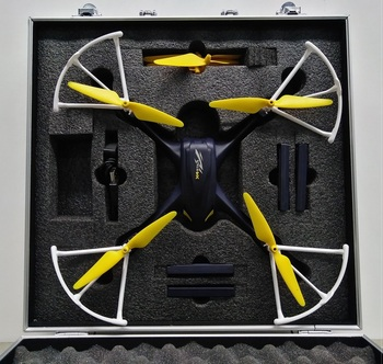 Smallest  Hubsan H501A H507A Aluminum  Portable Box Excellent Portable Box Perfect Storage Case Custom Made