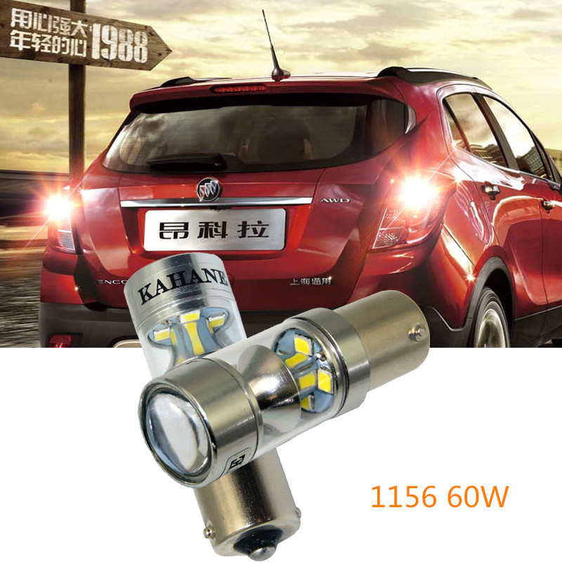 2xSuper Bright White LED Bulbs For Backup Reverse Light 1156 P21W Ba15s  For VW Touran Polo Jetta Mk6 Mk7 LAVIDA