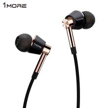 Original 1MORE E1001 triple Driver headphone Dynamic Hybrid Unit earhud HIFI stereo sound monitor earphone for IOS iphone xiaomi(China (Mainland))