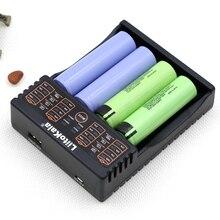 Liitokala nuevo producto lii-402 cargador se puede cargar 1.2 V 3.7 V AA/AAA 26650 18650 16340 batería de litio-ion cargador inteligente