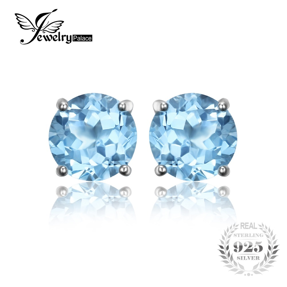 Por Birthstone Earrings Studs Cheap