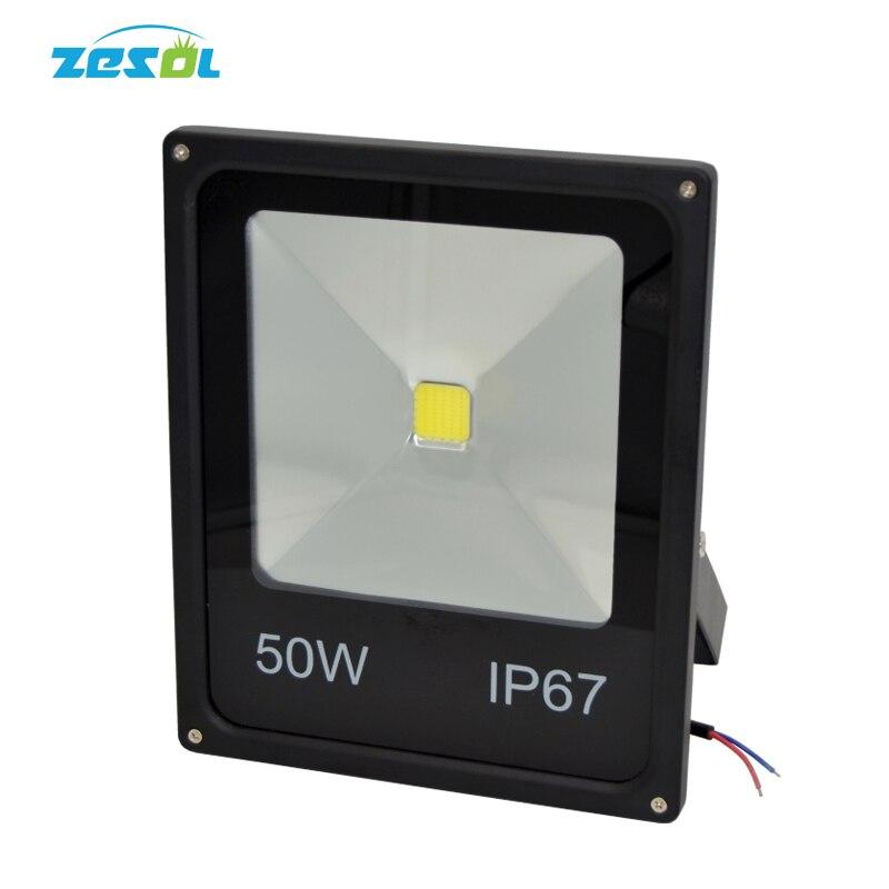 led floodlight 12v 50w light Street lamp 24V 240V 220V IP67 IP65 waterproof Outdoor spot garden Light