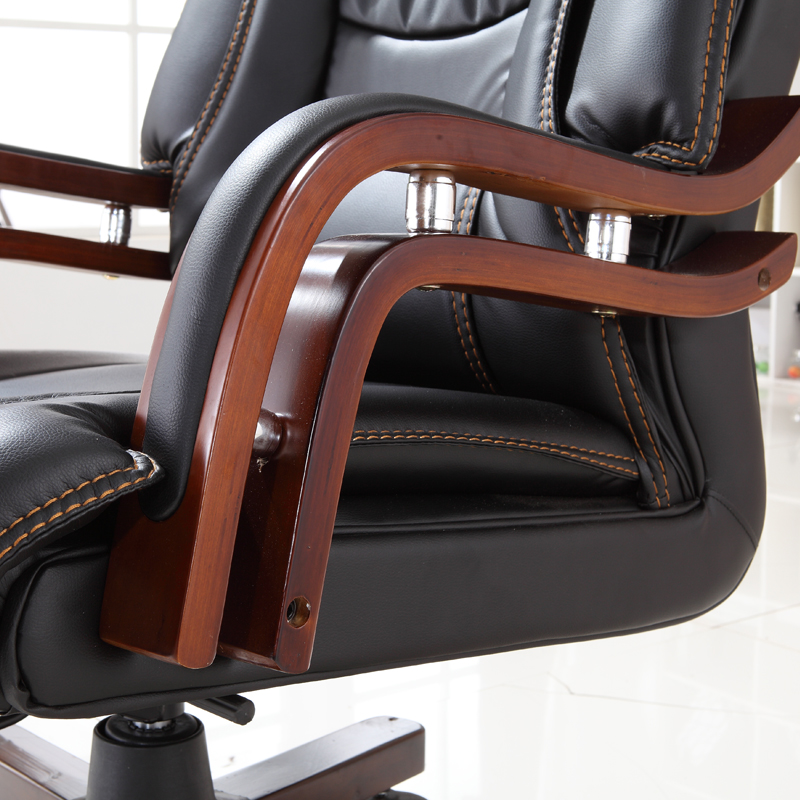 luxury office chairs leather. fine leather aliexpresscom  buy executive bonded leather office chair swivel legs wood  modern luxury home furniture boss ergonomic armrests from  and chairs