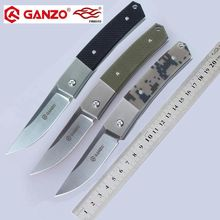 Ganzo G7361 F7361 440C лезвие 58-60HRC G10 Ручка складной Ножи для выживания на природе, для кемпинга, инструмент карманный нож для охоты тактический edc