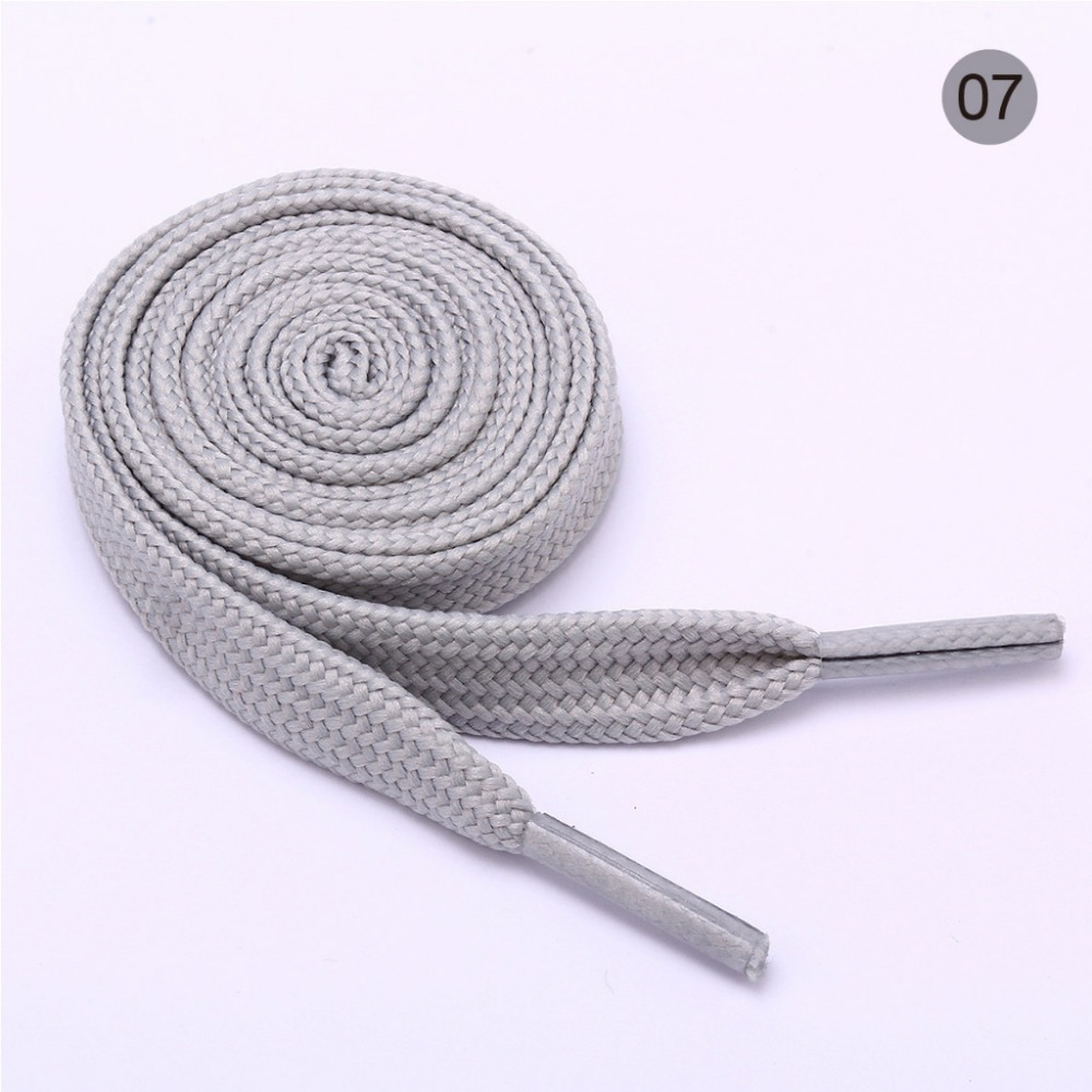 0 8m Shoelace Colorful For Men Women 1 Pair Canvas Shoelace For Shoes in Shoelaces from Shoes