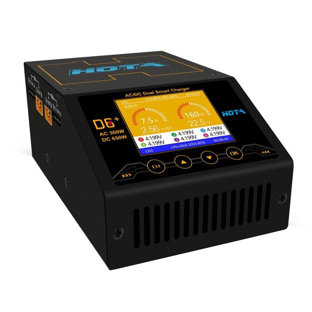 Hota D6 + plus Ac 300w Dc 2x325w 2x15a Dual Kanal Smart Batterie Ladegerät Entlader Lipo ladegerät Für Rc Drone Ersatzteile-in Teile & Zubehör aus Spielzeug und Hobbys bei  Gruppe 2