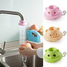 Распродажа, 1 шт., милый расширитель для смесителя для малышей, для мытья рук, для кухни, ванной комнаты, насадка для брызг, душевой кран, фильтр для воды