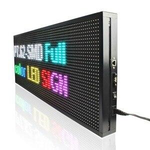 Image 5 - 135*71 Cm P5 Ngoài Trời Cao Độ Sáng RGB Full Video Màn Hình Hiển Thị Đèn LED Ban Lan Đầu Vào SMD LED Chống Thấm Nước biển Báo Hiệu
