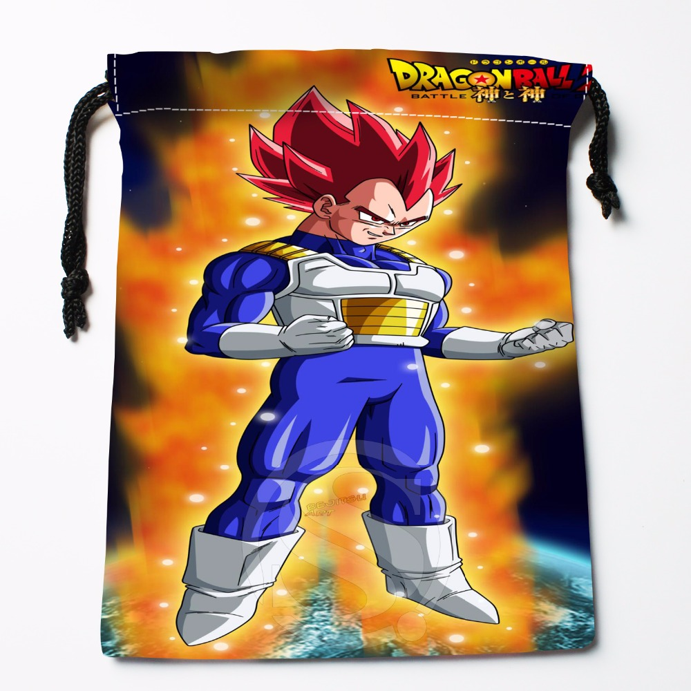 Fl-Q33 New Anime Dragon Ball Z #22 Custom Logo Printed  Receive Bag  Bag Compression Type Drawstring Bags Size 18X22cm 711-#F33