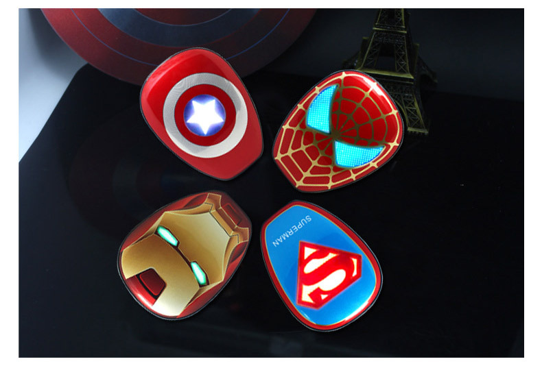 New 12000mAh Power Bank Cool PortableThe Avengers Captain America powerbank Charger For iphone 6 samsung galaxy s6