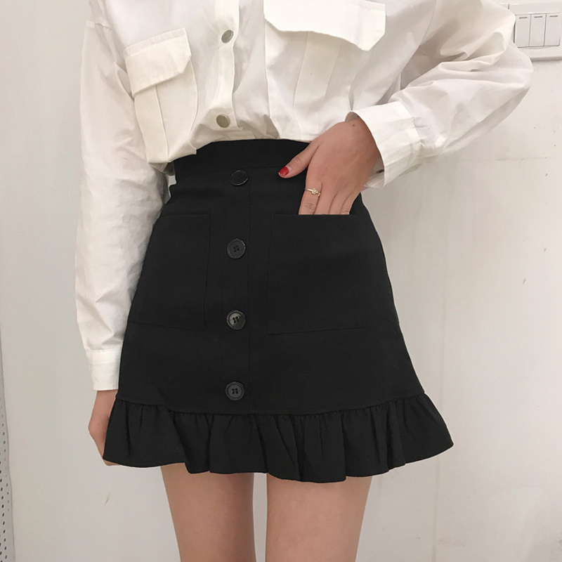 Cheap Wholesale 2018 New Autumn Winter  Hot Selling Women's Fashion Casual  Sexy Skirt G150