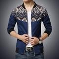 Бесплатная доставка 2015men Куртки мужские Тонкий модели взрыва большой бейсбол куртка карман