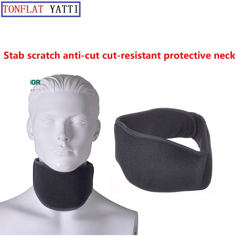 Anti-stab Protective Gear/Protective Neck Stab Polymer Material FBI Supplies Self-defense Anti Cut Anti-hack Full Se Anti Tool