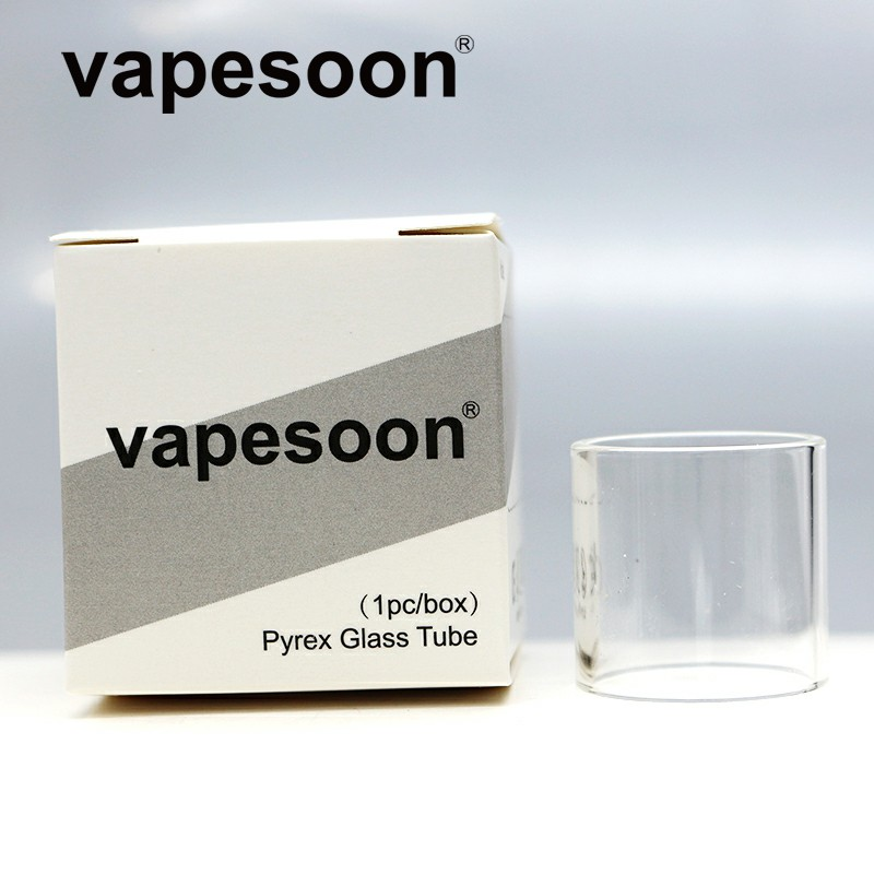 2 pieces vapesoon Replacement Pyrex Glass Tube for EHPRO Billow V3 Plus RTA 25MM 5.4ML Tank Atomizer