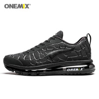 ONEMIX Running Shoes Men Air 95 Nice Run Athletic Trainers Navy Zapatillas Sports Shoe 270 Max Cushion Outdoor Walking Sneakers