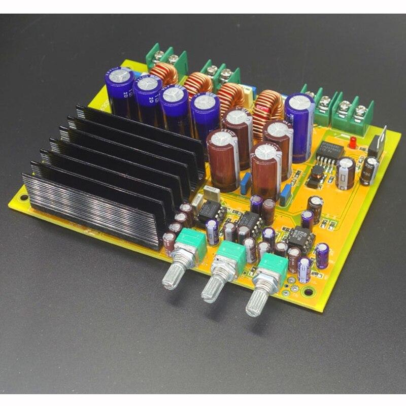 ФОТО 2.1 Channel 1 x 300W 2 x 150W TAS5630 Class-D Digital power Amplifier Board HIFI 2.1 amplifier board