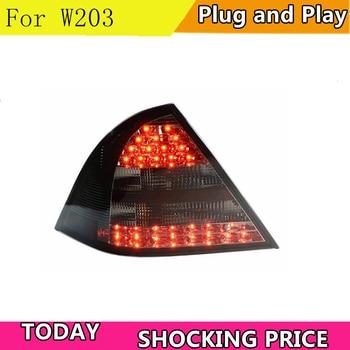 Car Styling Tail Lamp for W203 C180 C200 C260 LED Tail Light 01-04 New Altis LED Rear Lamp LED DRL+Brake+Park+Signal Stop Lam