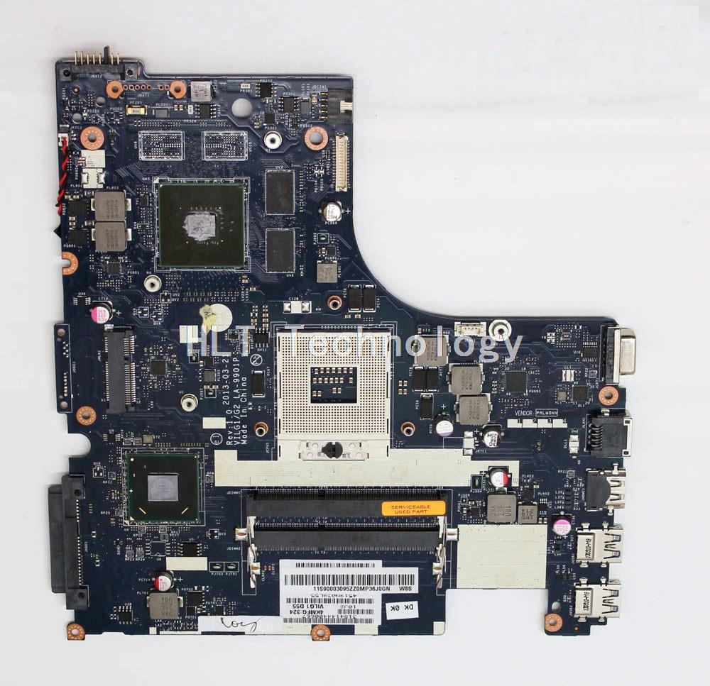 SHELI laptop Motherboard For Lenovo G500s ILG1/G2 LA-9901P Rev 1.0 HM76 non-integrated graphics card 100% fully tested