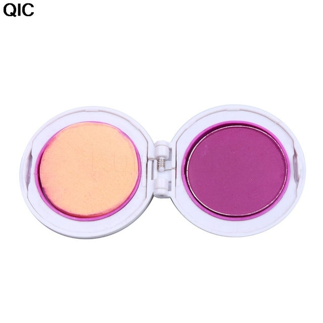 1 Set Spray Colored Hair Chalk Powder Cake Temporary Hair Dye Color 4 Colors Painting Hair Coloring Chalks Soft Pastels Salon