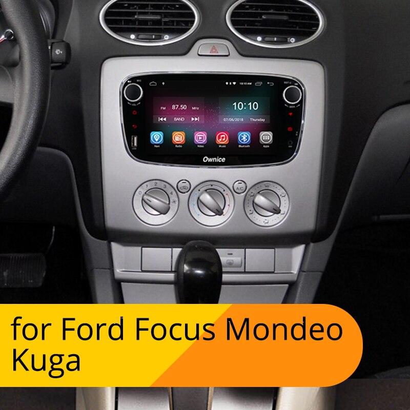 [Installation Service Free] Ownice K1 Android reproductor de DVD del coche 2 din Radio Car GPS Navi para Ford Focus 2 Mondeo Kuga C-MAX S-MAX Galaxy con de Audio estéreo unidad de cabeza hands free bluetooth for cars - 2