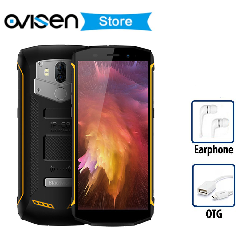 Original Blackview BV5800 NFC Android 8.1 Smartphone 5.5