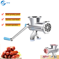 High Quality Mincer Kitchen Multifunctional Home Manual Meat Grinder For noodle Sausage Beef Mincer  filling Sausage