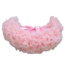 Модная очень пышная юбка-пачка для маленьких девочек; пышная фатиновая юбка-американка; юбки для балета; вечерние юбки для танцев; одежда для выступлений