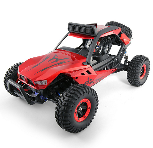 JJRC Q46 1/12 2.4G 4CH High Speed Off Road Buggy Crawler 45km/h Radio Control RC Car with Transmitter Blue Red VS Q36 Q35 Q45 jjrc h5p transmitter