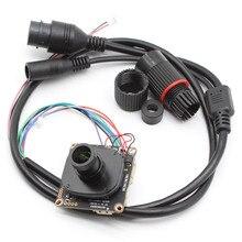 HD 4.0MP CCTV IP Camera Module Waterproof Network Security IPC board CMOS H.265 ONVIF with Weatherproof cable lens
