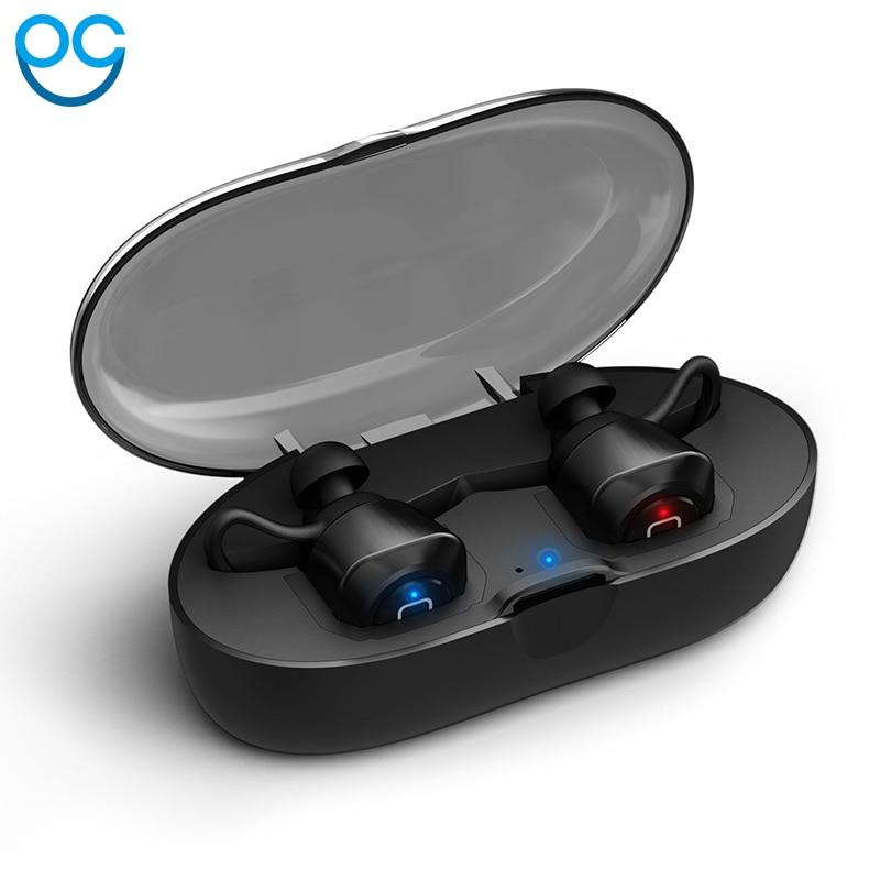True Wireless Earbuds TWS mini Sports Bluetooth Earphone Bluetooth V4.2 Stereo Earphones Headset With Microphone bgreen t02 tws bluetooth earphone true wireless stereo headset in ear earbuds