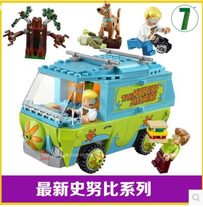 BELA Buidling Blocks 10430 Compatible Scooby Doo The Mystery Machine 75902 Model Bricks Figure Educational Toys For Children sermoido 305 pcs building blocks scooby doo the mystery machine 75902 model compatible figure toy for children b46