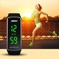 Splendid Luxury Brand Watches Women Men Fashion Silicone LED Sport Bracelet Touch Digital Wrist Watch