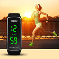 Splendid Relógios De Marcas de Luxo Mulheres Homens Moda Silicone Pulseira Esporte LED de Toque Digital Relógio de Pulso