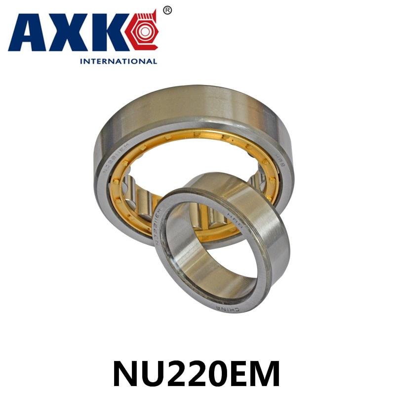 Axk Bearing Nu220em Cylindrical Roller Bearing 100*180*34mm