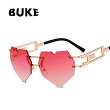 ANEDF Coração Em Forma de óculos de Sol MULHERES LENTE Gradiente de Moda  ÓCULOS de SOL Feminino oculos de sol NOVO 2018 Óculos VU400 em Óculos de sol  de Das ... 18837dc07b