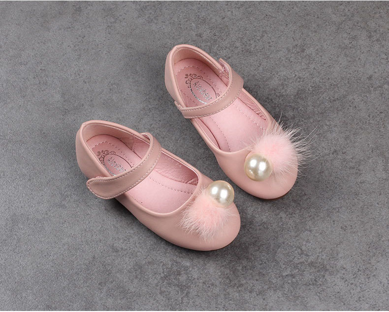 Girls pearl shoes, 1-6 yrs kids NEW 2018 SPRING/fall leather party/wedding wear, CHILD wholesale 11AS503-31 ELEVEN STORY