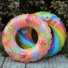 Thicken Swimming Ring Windmill Fruit Swim Pool Toys Safety Inflatable Swim Rings For Baby Children Water Sport Swimming Pool 58334 bestway 91cm safety pool ladder for asia africa america 36 inches agp ladder for swimming pool of height less than 107cm