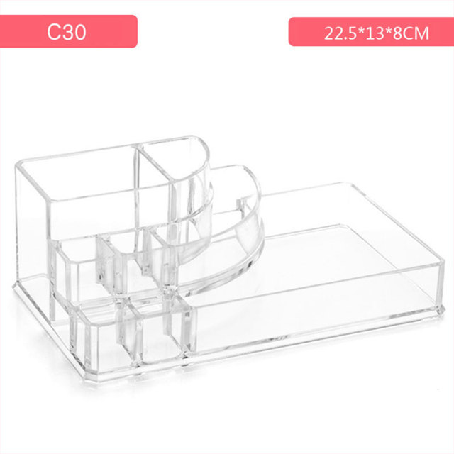 Acrylic Cosmetic Make Up Organiser Display Makeup Storage and Lipstick Liner Brush Holder  HS11