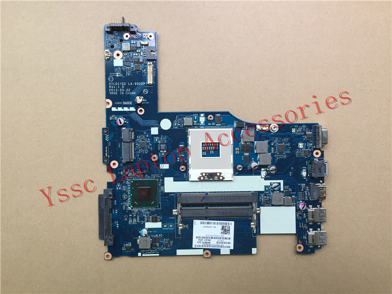 Free shipping New New VILG1 G2 LA 9902P motherboard For Lenovo G500S Laptop motherboard HM76 For