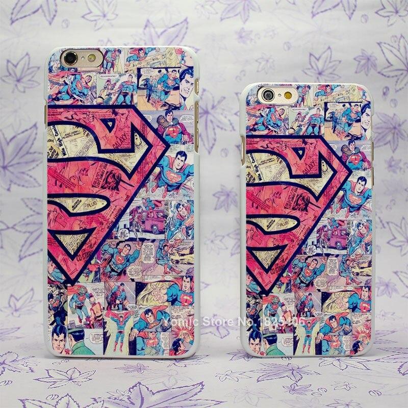 superman logo tumblr Design hard White Skin Case Cover for Apple iPhone 4 4s 4g 5 5s 5c 6 6s 6 Plus 6splus